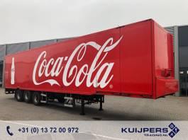 closed box semi trailer Jumbo DO 270.V1 / 3 as BPW Drum / Box / 2x Side Door / APK TUV 08-22 2001