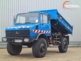 tipper truck > 7.5 t Unimog U 1700 L 4x4 -(435C) - Kipper - Tipper - Benne 1981