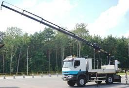 crane truck Renault 270-20 4x4 Palfinger PK 16502 CRANE WINCH 2003