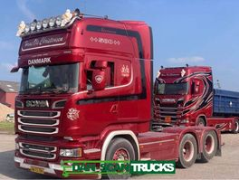 cab over engine Scania R580-V8 Hydr. system Full Air suspension special Interior 2900mm weelbase 2016