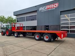 flatbed full trailer agpro 3 a 2021