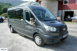 taxi bus Ford Transit 131 hp 9 seats mini bus with HC ramp og 2 2018