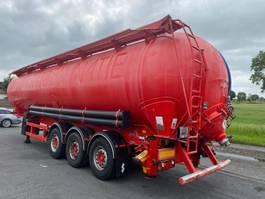 feed semi trailer SPITZER BULK TRAILER- 2008 - 60m³ - 3 AXLES SAF - DISC BRAKES 2008