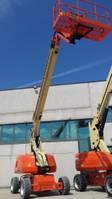 telescopic boom lift wheeled JLG 660 SJ 2021