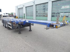 swap body trailer semi trailer D-TEC FT-43-03V, all connections, Highcube, TUV 2/2022 2008