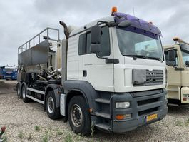 vacuum truck MAN TGA 41.400 8x4 BB 2007