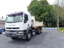 tipper truck > 7.5 t Renault Kerax 420 -bi benne- retarder- very good condition