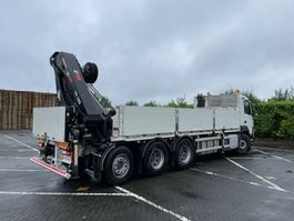 crane truck Volvo Volvo FMX 8X4 420 | 8x2 TRIDEM | Euro 6 | Platform + HIAB E7 HI-Pro 288 Crane | 2016 2016