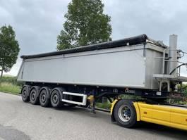 tipper semi trailer Carnehl 4 asser kipper SAF / aluminum /steel 2014