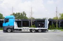 car transporter truck Mercedes-Benz Actros 2542 , E6 , MEGA , NEW BODY , car tow 10T , hydraulic ram 2017