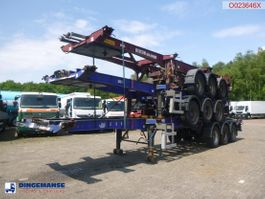 container chassis semi trailer Dennison Stack - 3 x container trailer 20-30-40-45 ft 2008