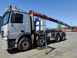 crane truck Mercedes-Benz Actros 3244 K +HMF 2220 nosturi 2007