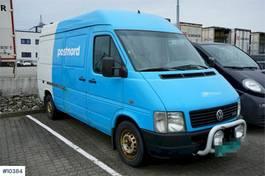 closed lcv Volkswagen 110 hp van. Rep object 2004