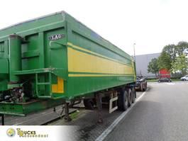 tipper semi trailer LAG 37 KHSL + 3 AXLE 1999