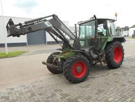 farm tractor Fendt 390 GT 1991