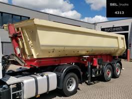 tipper semi trailer Schwarzmüller K202 / Liftachse