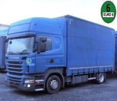 tilt truck Scania R440 Topline 4x2 Jumbo RET Euro 6 2013