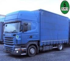 mega-volume truck Scania R440 Topline 4x2 Jumbo RET Euro 6 2013