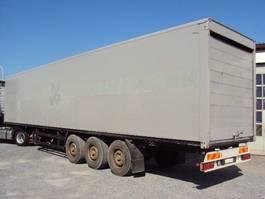 closed box semi trailer Kögel 3 achs Kofferauflieger luft Scheibe Rolltor 2003