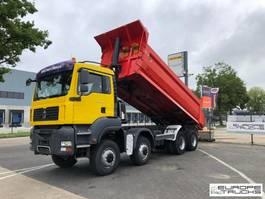 tipper truck > 7.5 t MAN TGA 41 8x8 - Full steel - Manual - Hub red - Euro 4 2008