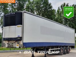 sliding curtain semi trailer Sor Ibérica SP-71 NL-Trailer Liftachse Curtainside with Carrier Vector 2004