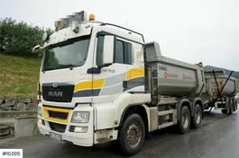 tipper truck > 7.5 t MAN TGS 26 6x4 Tipper truck with alloy wheels, Car 2013