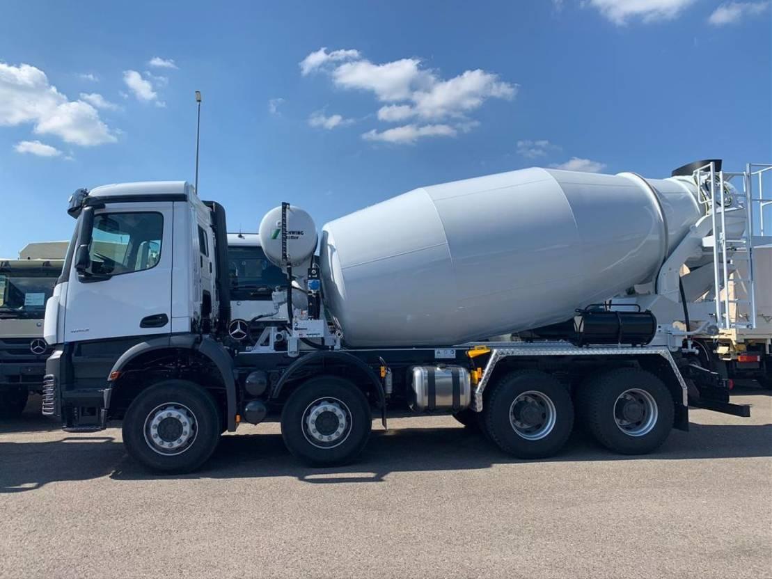 Betonmischer-LKW Mercedes-Benz 4142-B 8x4 Stetter 10m3 Concrete Mixer - NEW