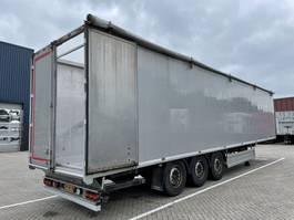 walking floor semi trailer Knapen Trailers K100 - 92m3 Hochdruckreiniger 2016