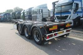container chassis semi trailer D-TEC FLEXITRAILER 3x uitschuifbaar / EVT. Huur(koop) 2015