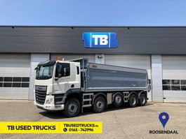tipper truck > 7.5 t DAF CF 530 FAD Day Cab 10x4 Geïsoleerde HYVA Kipper 23m3 2021