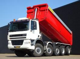 tipper truck > 7.5 t Ginaf X 5450 DAF S / 10x8 / MANUAL GEARBOX / 28.7 m3 TIPPER 2002