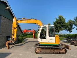 crawler excavator Hitachi EX75 US-7 2002