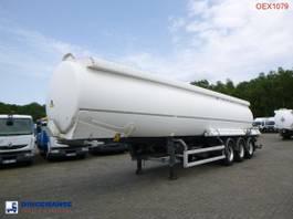 tank semi trailer semi trailer Trailor Fuel tank alu 40.2 m3 / 9 comp 2002