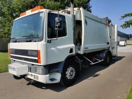 garbage truck DAF CF 75 Euro 2 2000
