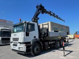 tipper truck > 7.5 t Iveco Stralis 430 Stralis 260S43 + HIAB 288E6 2005