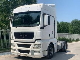 cab over engine MAN TGX 18 MANUAL GEARBOX RETARDER CHASSIS LIKE NEW !!! 2009
