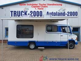 closed lcv Mercedes-Benz 510 Wohnmobil + Büro mit Scheckheft 1.Hand 1997