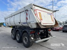 Kippauflieger Schmitz Cargobull Semitrailer Tipper Steel half pipe body 24m³ 2016