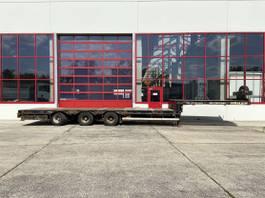 lowloader semi trailer Möslein ST 3 3 Achs Tieflader , ausziehbar 2008