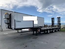 lowloader semi trailer Carnehl 4-akslet maskinhenger 2018