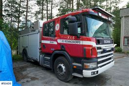 fire truck Scania brannbil w/ a lof of equipment 1998