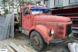 platform truck Volvo N86 faltbed 1971