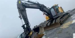 crawler excavator Volvo EC355EL Excavator w/ latest Trimble GPS 2018