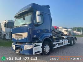 container truck Renault Premium 450 DXI / 6X2 / Euro 5 / Airco / TUV: 4-2022 / German Truck 2009