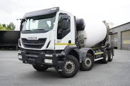 concrete mixer truck Iveco 400 , E6 , 8X4 , Cement mixer 10m3 , retarder , 100.000k 2018