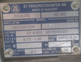 Gearbox truck part ZF Daily