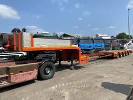 semi lowloader semi trailer ES-GE 5SOU-25-40-2N.05 - 5 AXLES - SAF - BED: 9,20 + 5,94 CM 2001