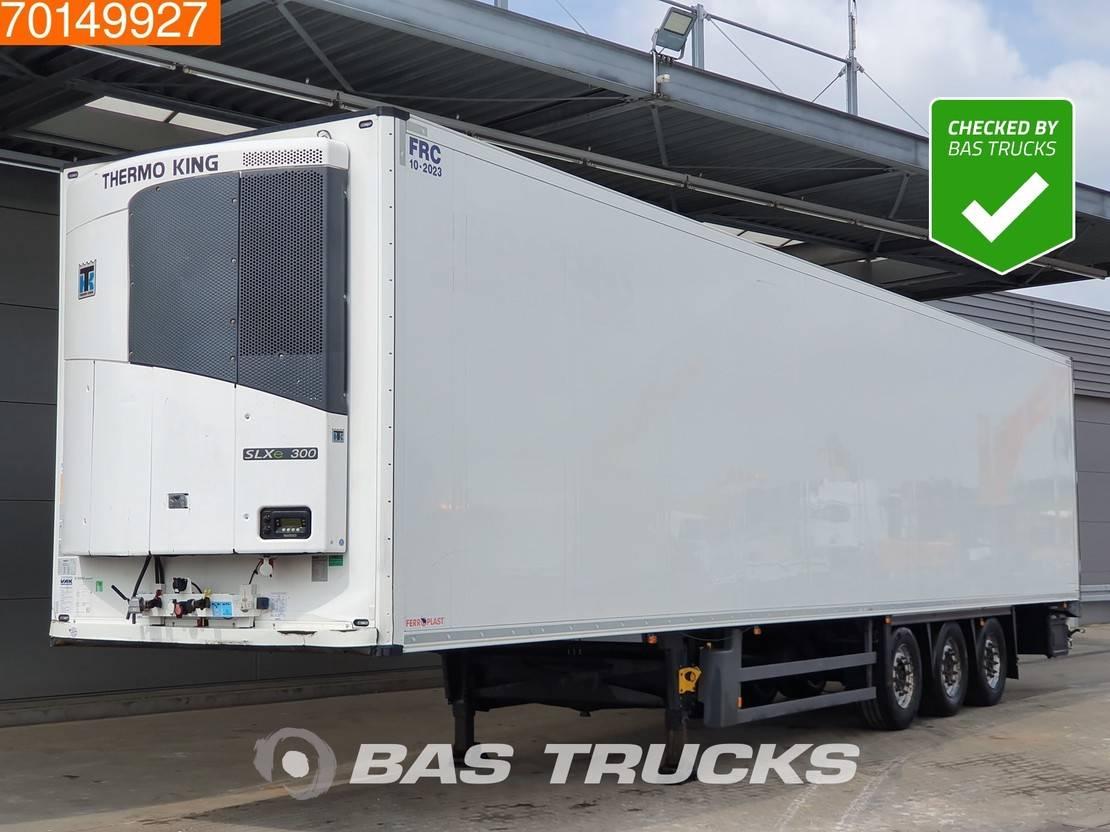 refrigerated semi trailer Schmitz Cargobull Thermoking SLXe 300 3 axles Blumenbreit ThermoKing 2014