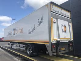 closed box semi trailer Renders gesloten city   Laadklep   Volle lengte 2012