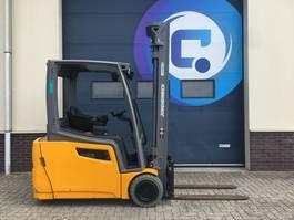 forklift Jungheinrich EFG 200 600DZ Triplex Electric - Side Shift - Year 2018 - Hours 1577 - 2x in STOCK !! 2018